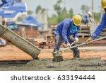 Construction Worker Concrete...