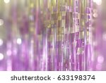 bright pink illustration with... | Shutterstock . vector #633198374