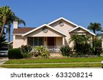 luxury houses and estates with ... | Shutterstock . vector #633208214