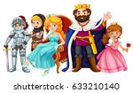 fairytale characters with king