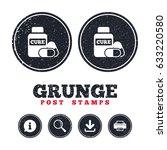 grunge post stamps. medical...   Shutterstock .eps vector #633220580
