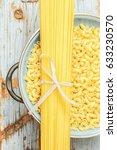 Small photo of Pasta macaroni spaghetti