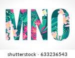 vector alphabet set. retro...   Shutterstock .eps vector #633236543