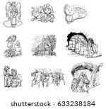 coloring books for children... | Shutterstock . vector #633238184