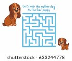 Funny Maze For Kids With Cute...