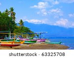 indonesia. bali. traditional... | Shutterstock . vector #63325708