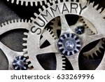 macro photo of tooth wheel... | Shutterstock . vector #633269996