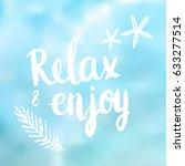 conceptual hand drawn phrase... | Shutterstock .eps vector #633277514