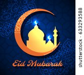ramadan greeting card for...   Shutterstock .eps vector #633293588
