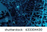 3d rendered digital abstract... | Shutterstock . vector #633304430