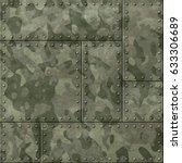 Metal Plates With Camouflage 3...