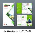 tri fold brochure design.... | Shutterstock .eps vector #633320828