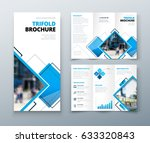tri fold brochure design....   Shutterstock .eps vector #633320843