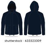 hood jacket | Shutterstock .eps vector #633323309
