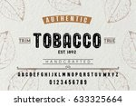font. alphabet. script....   Shutterstock .eps vector #633325664