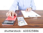 overseas investment | Shutterstock . vector #633325886