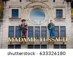 amsterdam  netherlands   april  ... | Shutterstock . vector #633326180