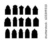 ramadan kareem shapes of... | Shutterstock .eps vector #633349310