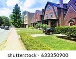 pittsburgh  usa. shadyside... | Shutterstock . vector #633350900