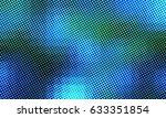 color halftone pixel pattern. | Shutterstock . vector #633351854