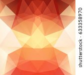 abstract mosaic background.... | Shutterstock .eps vector #633358970