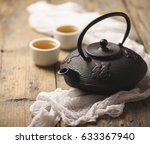 still life with traditional... | Shutterstock . vector #633367940
