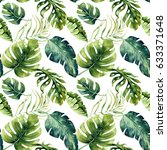 seamless watercolor pattern of... | Shutterstock . vector #633371648