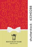 design an elegant menu   label | Shutterstock .eps vector #63340288