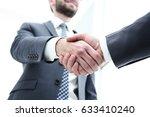 business people shaking hands... | Shutterstock . vector #633410240