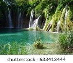 plitvice lakes | Shutterstock . vector #633413444