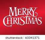 classic holiday vector... | Shutterstock .eps vector #63341371