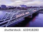 Aerial of Trenton Makes The World Takes Bridge II