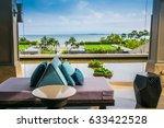 closeup of modern furniture... | Shutterstock . vector #633422528