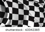 race flag | Shutterstock . vector #63342385