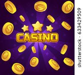 casino winner background. gold...