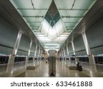 Interior Of Singapore Mrt.  Th...