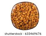 isolated tasty or nut cracker... | Shutterstock . vector #633469676