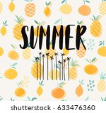 summer illustration  | Shutterstock .eps vector #633476360