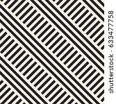 interlacing parallel stripes.... | Shutterstock .eps vector #633477758
