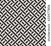 interlacing lines maze lattice. ...   Shutterstock .eps vector #633477806