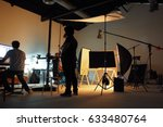 behind the shooting production... | Shutterstock . vector #633480764