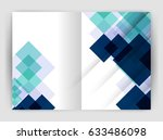 square design corporate... | Shutterstock .eps vector #633486098