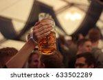 Raised beer stein concept ...