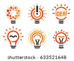 stylized set of vector... | Shutterstock .eps vector #633521648