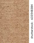 recycled brown corrugated... | Shutterstock . vector #633548384