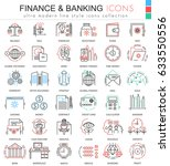 finance and banking ultra... | Shutterstock . vector #633550556