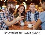 group of creative interior... | Shutterstock . vector #633576644