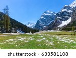 Spring Mountain Landscape With...