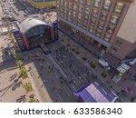 eurovision village on... | Shutterstock . vector #633586340