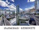 chelsea harbour in the west of...   Shutterstock . vector #633604370